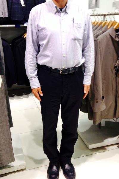 大里さん[53歳]さんのコーディネート前
