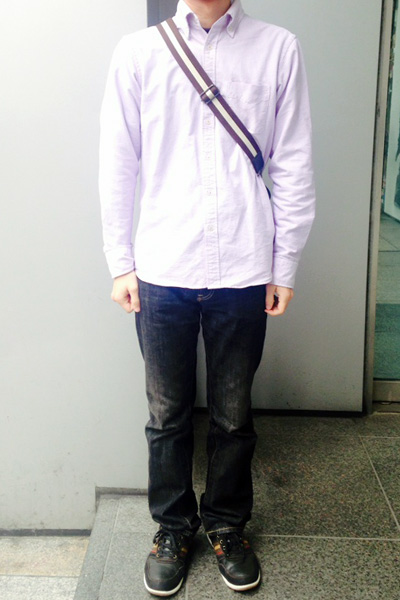 奥山さん[27歳]さんのコーディネート前