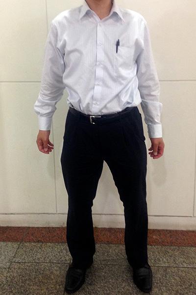 高井さん[37歳]さんのコーディネート前