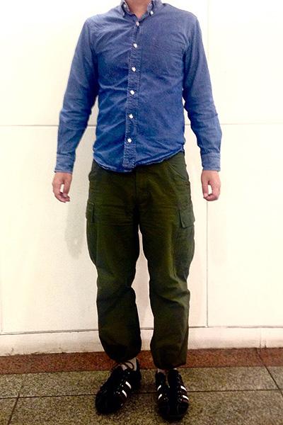 吉川さん[34歳]さんのコーディネート前