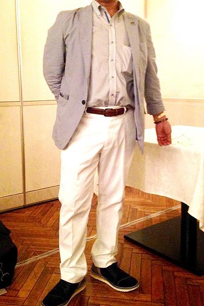 前田さん[62歳]さんのコーディネート前