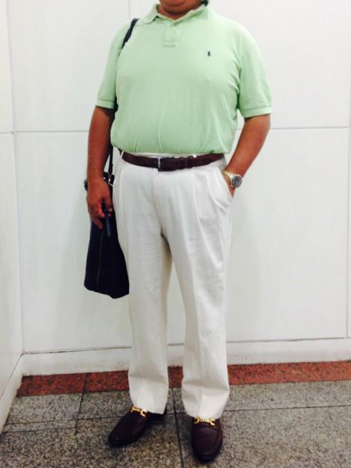宮脇さん[53歳]さんのコーディネート前