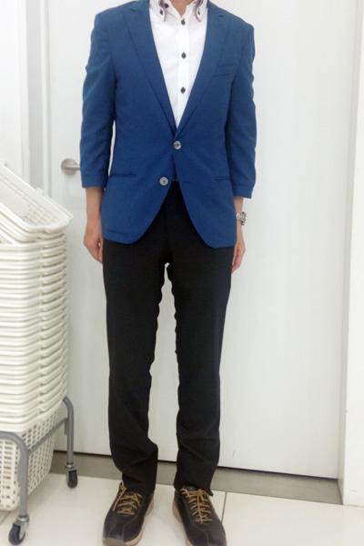 志馬田さん[30歳]さんのコーディネート前