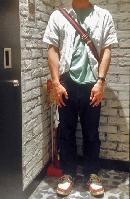 三山さん[32歳]さんのコーディネート前