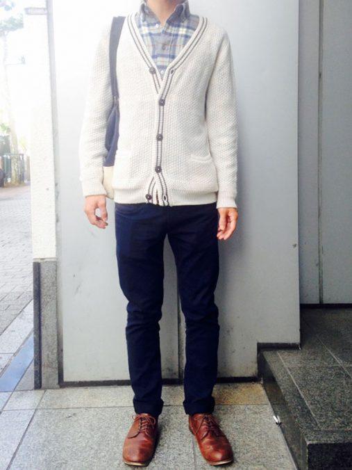 上川さん[26歳]さんのコーディネート前