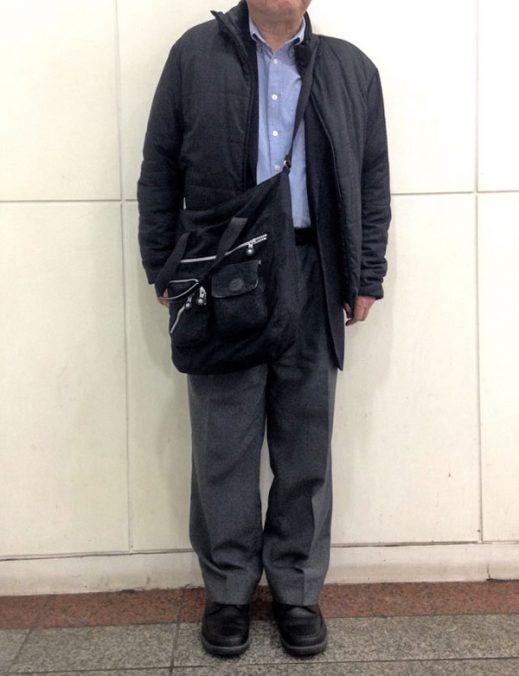 須田さん[55歳]さんのコーディネート前