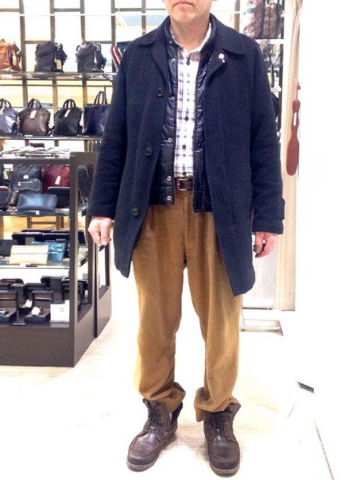 日枝さん[53歳]さんのコーディネート前