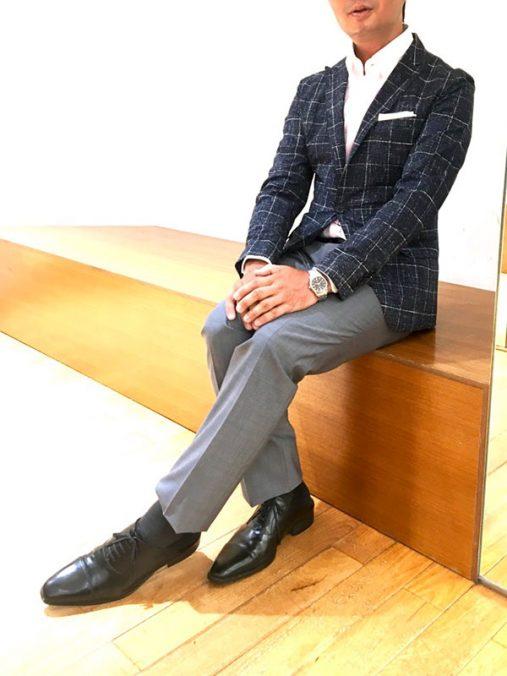 新田さん[40歳]さんのコーディネート後