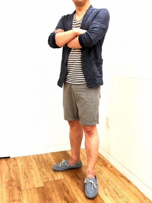 田川さん[45歳]さんのコーディネート後
