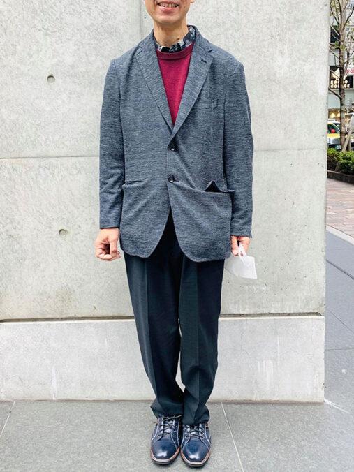 佐藤さん[55歳]さんのコーディネート前