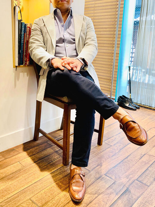 深田さん [56歳]さんのコーディネート後