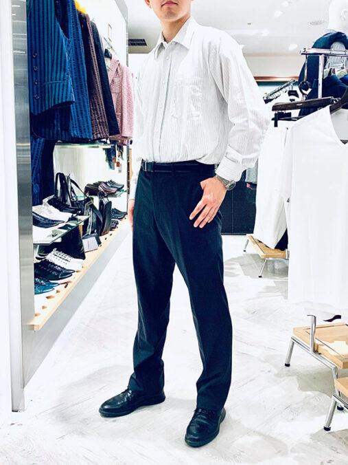 青山さん[29歳]さんのコーディネート前