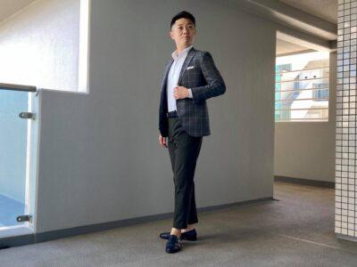 スマートカジュアル 服のサイズの参考例